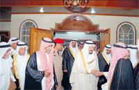 زيارة صاحب السمو الملكي الأمير عبدالرحمن بن عبدالعزيز لقبيلة آل بوعينين