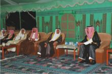 زيارة صاحب السمو الأمير سعود بن عبدالله بن ثنيان لقبيلة آل بوعينين