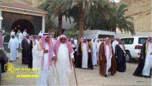 آل بوعينين في ضيافة الشيخ عبدالرحمن الفواز التميمي بحوطة بني تميم